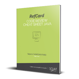 Code Review Cheat Sheet Java